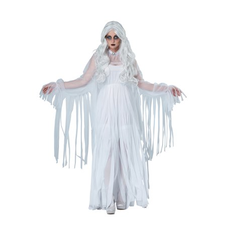 womens ghostly spirit halloween costume
