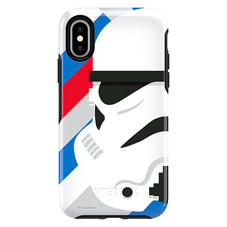 Otterbox Symmetry Series Case for iPhone X, Stormtrooper