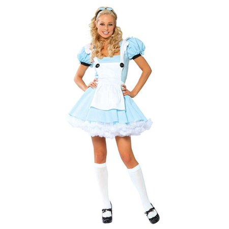 Sexy Alice In Wonderland Adult Costume (Alice In Wonderland Costume Diy)