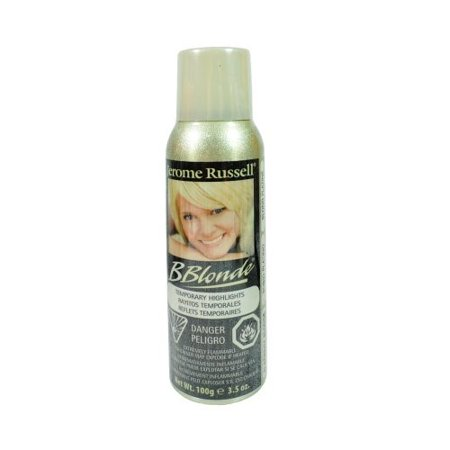 Jerome Russell Highlight Spray, Platinum Blonde, 3.5 Oz (Highlight Spray)