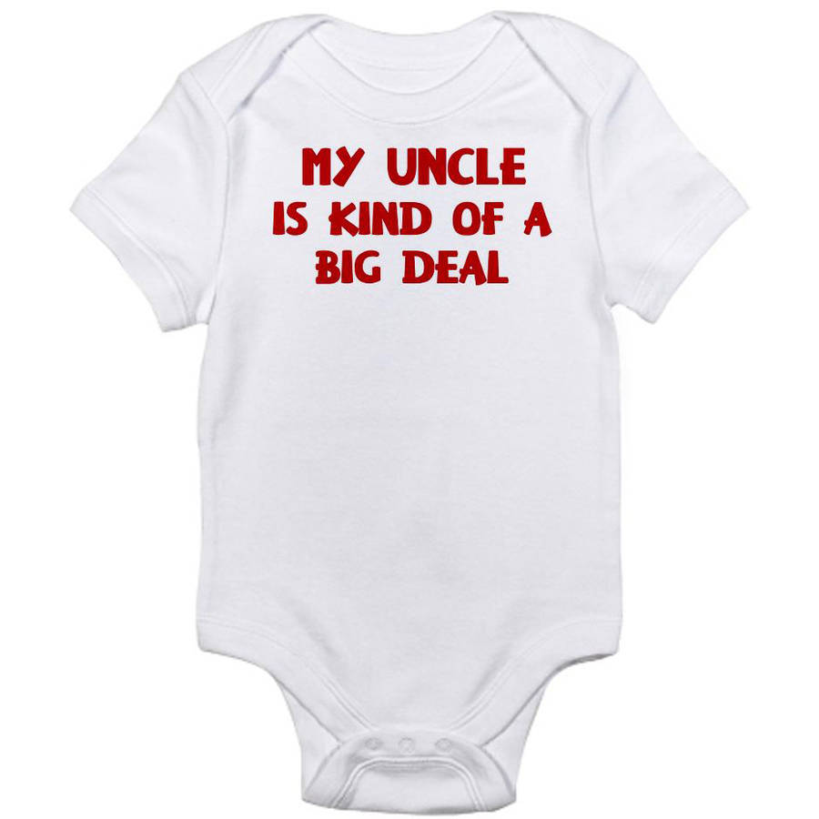 CafePress Newborn Baby Uncle is a Big Deal Bodysuit