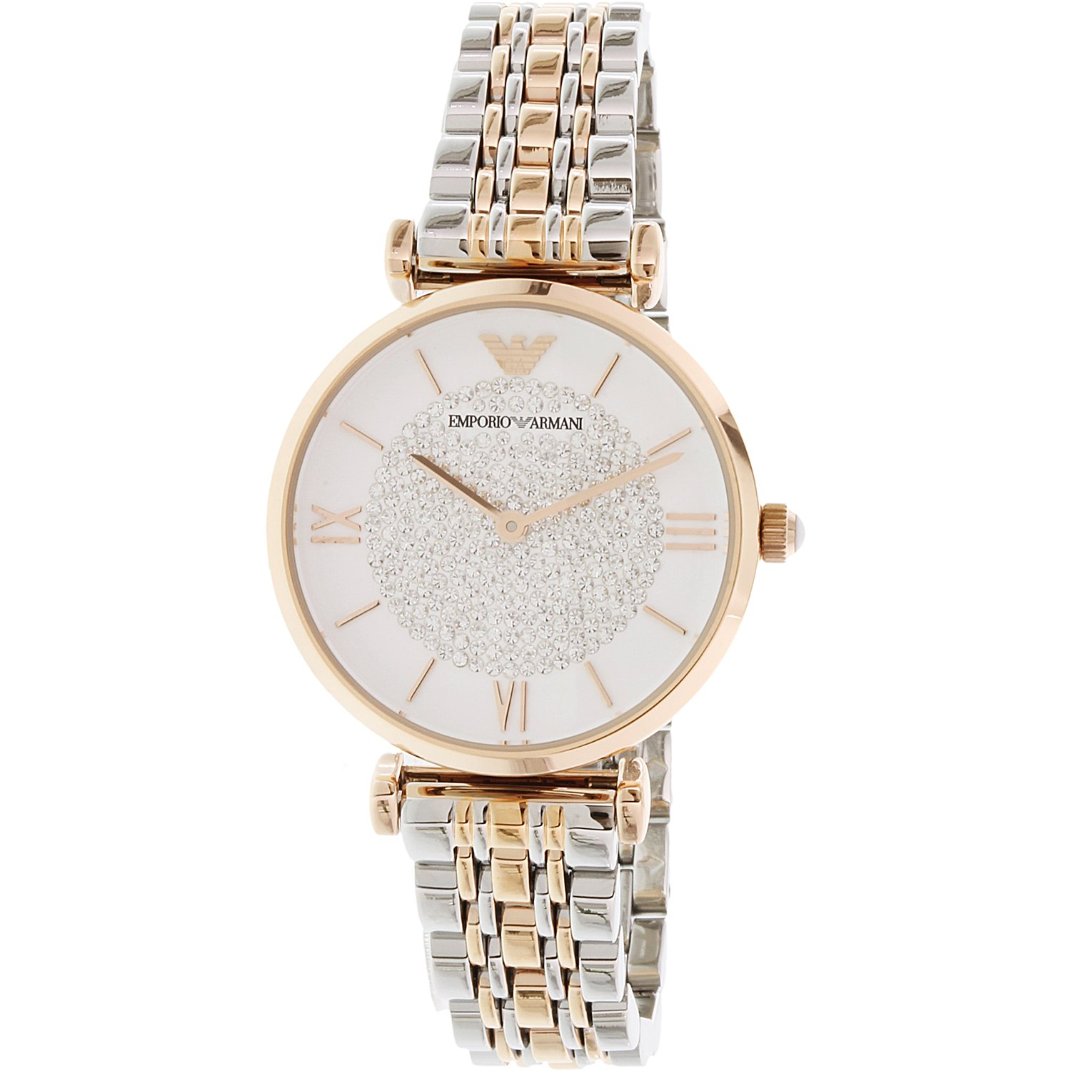 51da436a48fe Emporio Armani Women s Retro AR1926 Rose Gold Stainless-Steel Quartz  Fashion Watch