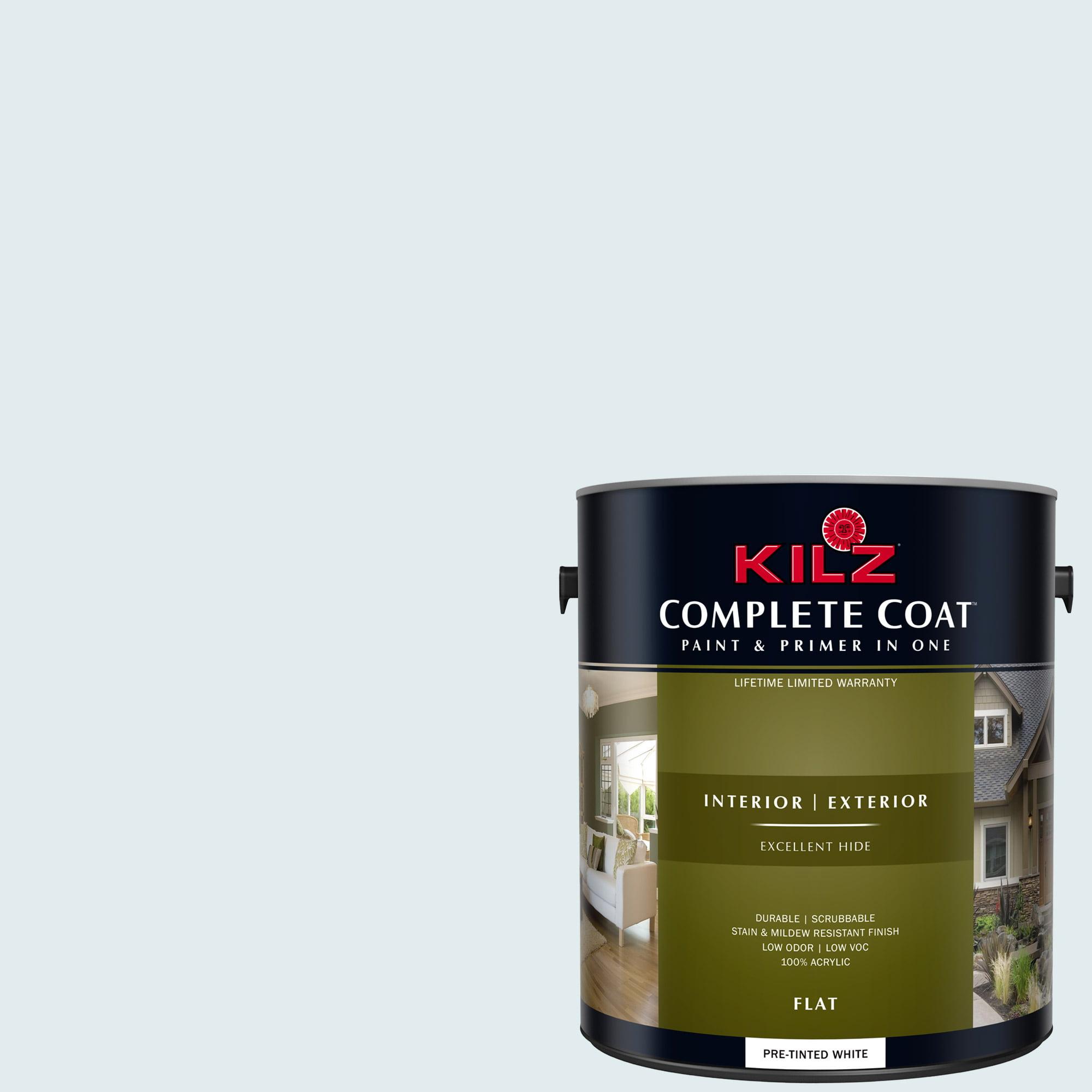 KILZ COMPLETE COAT Interior/Exterior Paint & Primer in One #RE190-01 Morning Hush