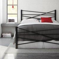 Amisco Crosston Metal Platform Bed