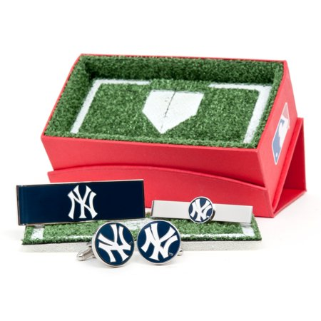 MLB Mens New York Yankees 3-Piece Gift Set with Gift Box PD-NYY-3P NEW