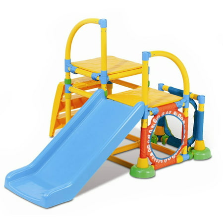 Grow'n Up Toddler Climb 'n Slide Jungle (Unison 12 Slide)