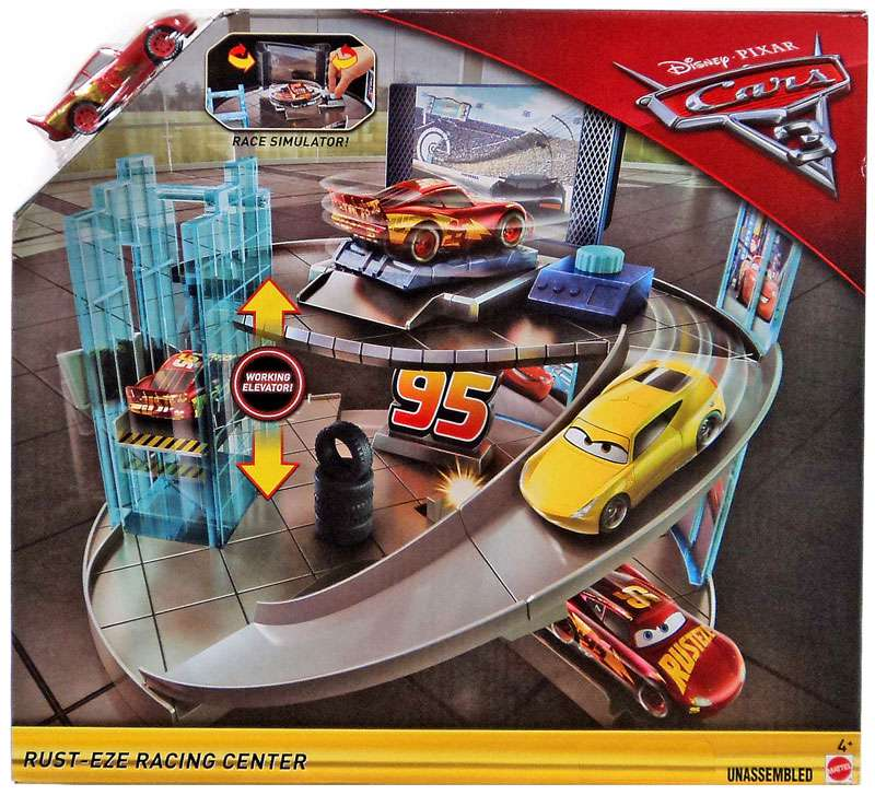 Disney Cars Cars 3 Rust Eze Racing Center Playset Walmart Com
