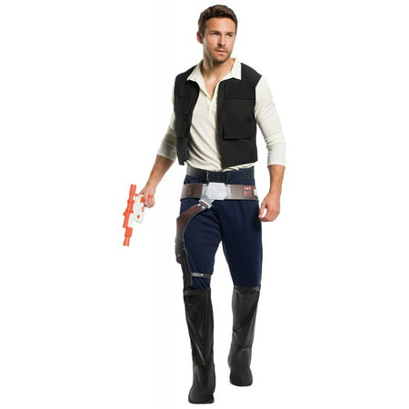Star Wars Mens Classic Han Solo Halloween Costume](Pop Stars Halloween Costumes)