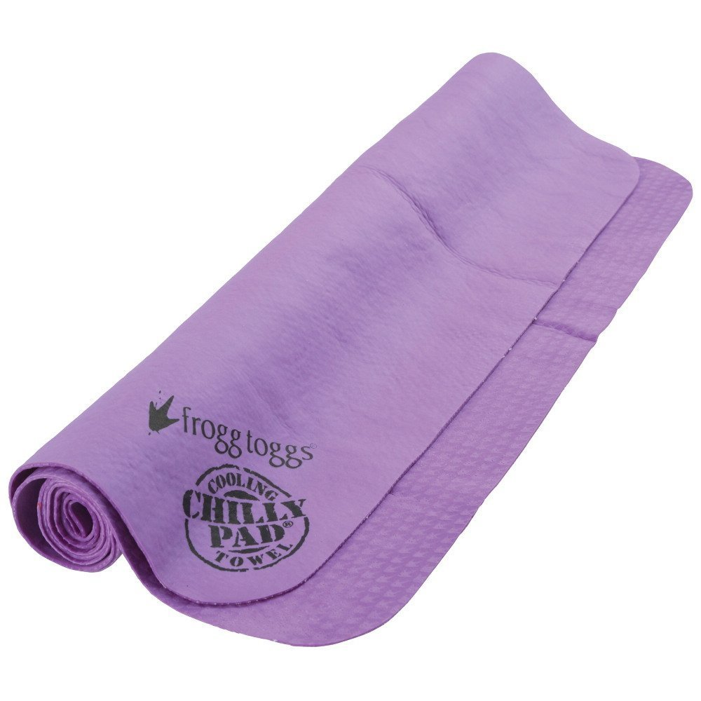 Cooling Chilly Pad Towel, Purple Super Soft Comfort Frogg Toggs Chilly Pad Towel