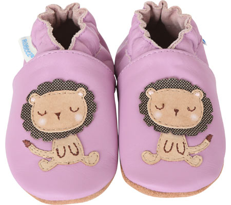 Infant Girls' Robeez Lori The Lion Crib Shoe by Robeez
