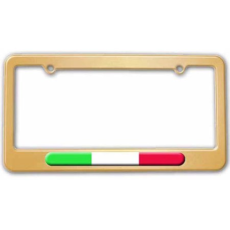 Italian Flag, Italy License Plate Tag Frame, Multiple Colors ...
