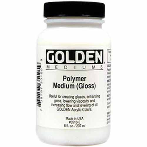 Polymer Gloss Medium-8oz
