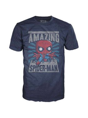 d3a913104 Product Image Men's Funko Pop Spiderman City Tee