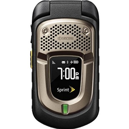 Sprint Kyocera DuraXT No Contract MIL-SPEC Rugged PTT 3MP Camera Cell Phone ()