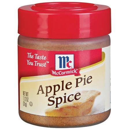 McCormick Apple Pie Spice, 1.12 OZ - Walmart.com