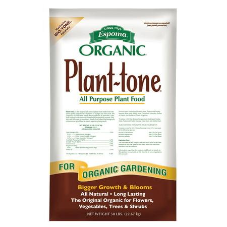 Espoma PT50 50 Lb Organic Plant Tone All Purpose Plant