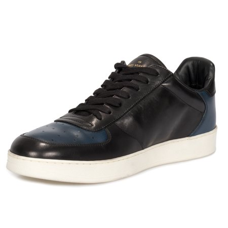7f6357d4f09 Louis Vuitton - Louis Vuitton Rivoli Black and Navy Sneakers - Walmart.com