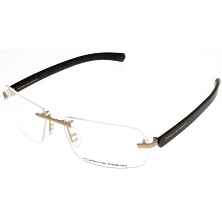 Porsche Design Prescription Eye wear Frames Unisex Brown Rimless (Porsche Eye Frames)