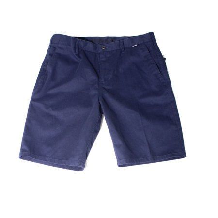 Hurley NEW Blue Mens Size 32 Falt Front One and Only Chino Walkshort