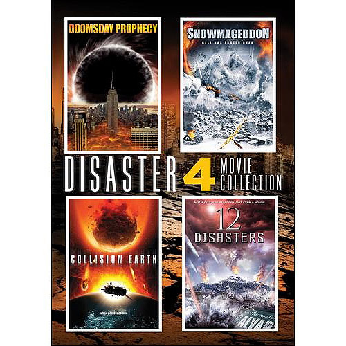 Disaster 4-Pack: Doomsday Prophecy / Snowmageddon / Collision Earth / 12 Disasters (Widescreen)