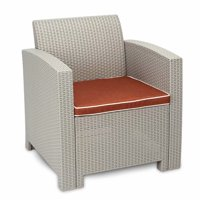 Akoyovwerve Outdoor Patio Chair Lawn Chairs Garden Furniture Gray White