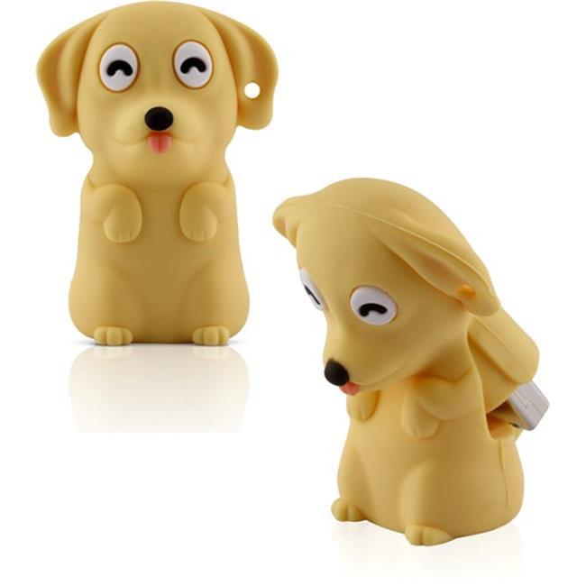 Bone DRSC11011-8Y-US 8GB Dog Drive - Yellow