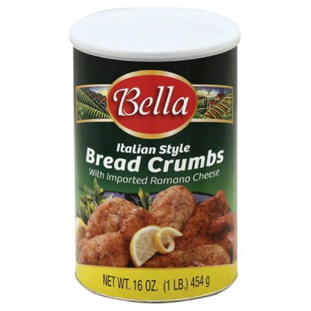 Italian Cheese Bread (Bella Italian Style Bread Crumbs with Imported Romano Cheese, 16 Oz (Pack of 12) )