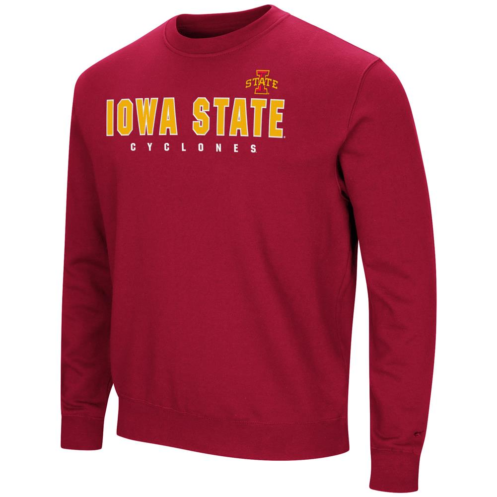 Iowa State Cyclones Sweatshirt Playbook Crew Neck Fleece