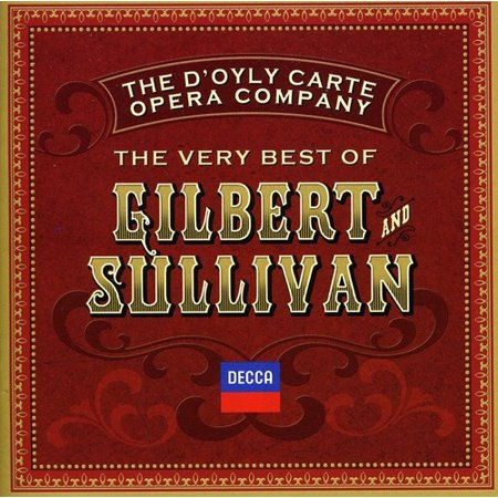 Very Best of Gilbert & Sullivan (CD) (The Very Best Of Gilbert O Sullivan)