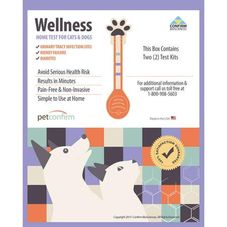 Petconfirm Wellness Home Test Kit pour chats et chiens