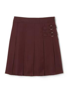 French Toast Girls Plus 10-20 School Uniform Adjustable Waist 2-Tab Scooter Skirt