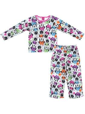 e2b4280110a5 Product Image Disney Girls Minnie Mouse Colorful Hair Bows Pajama Set
