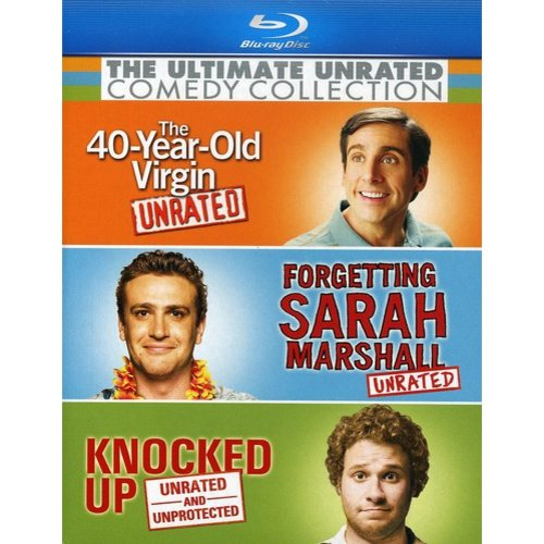 Ultimate Unrated Comedy Collection: Forgetting Sarah Marshall / Knocked Up / The 40-Year-Old Virgin (Unrated) (Blu-ray) (Widescreen)