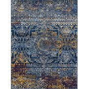 Manhattan 42 Teal Loomed Area Rug