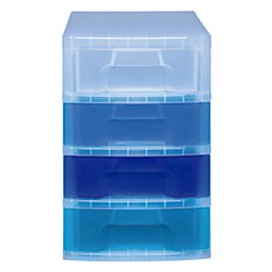 4 Drawer Tower - Really Useful Box® Tower Drawer, 4 Drawers, 7 Liters, 18
