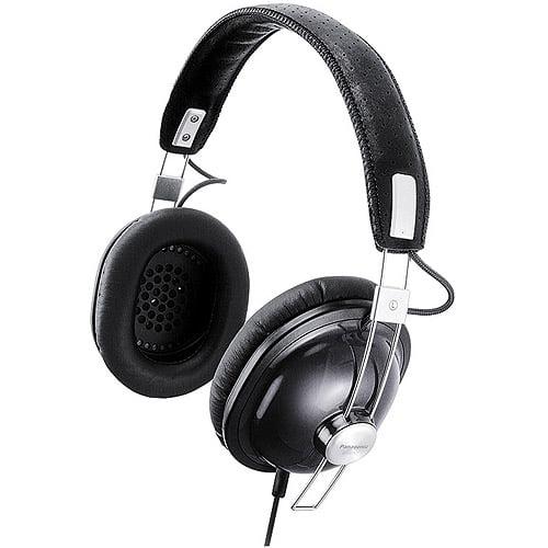 Panasonic Old School Monitor Headphones, RP-HTX7 Black