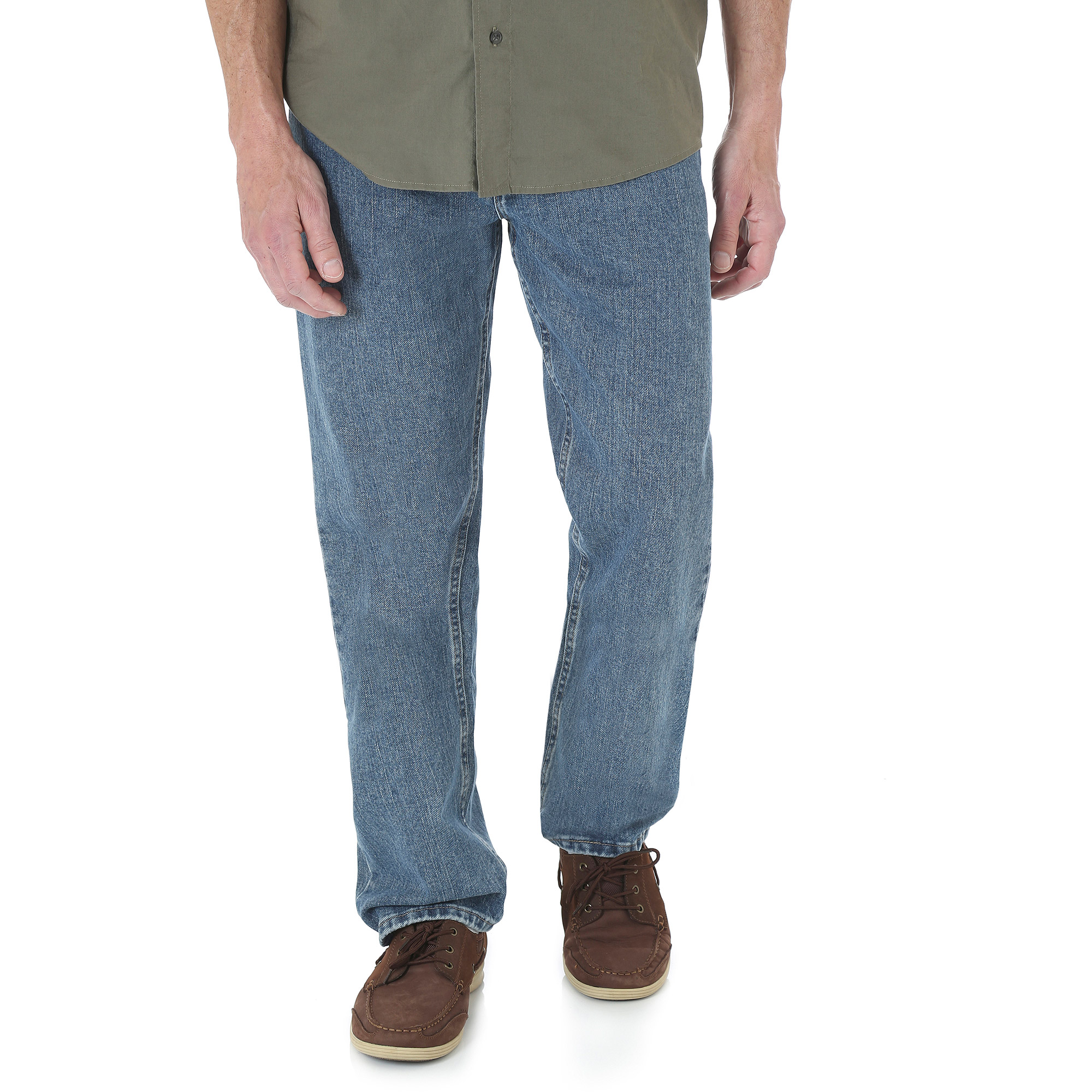 Wrangler - Tall Men's Relaxed Fit Jeans - Walmart.com
