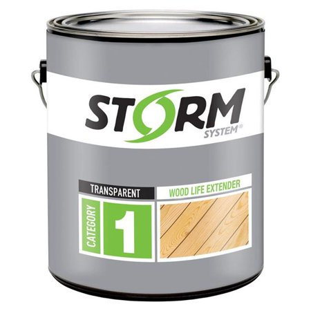 - Storm System 1915164 Transparent Clear Wood Life Extender, 1 gal - Case of 4