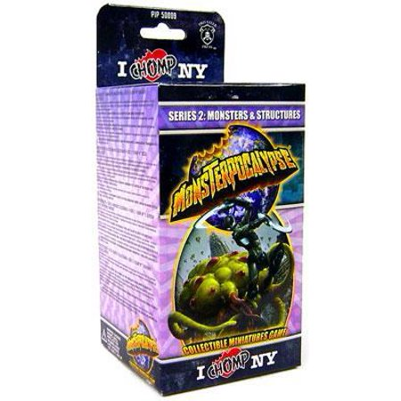 Structure Series - Monsterpocalypse Series 2 I Chomp NY Monster & Structures Booster Pack