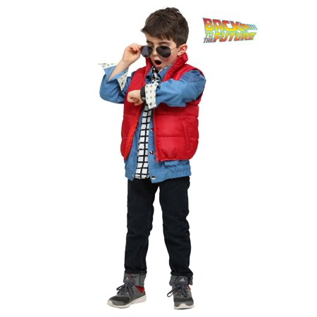 Back to the Future Marty McFly Toddler Costume - Marty Mcfly Jacket