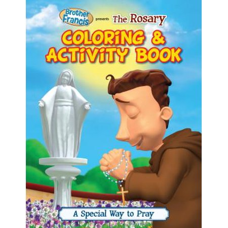 The Rosary Coloring & Activity Book