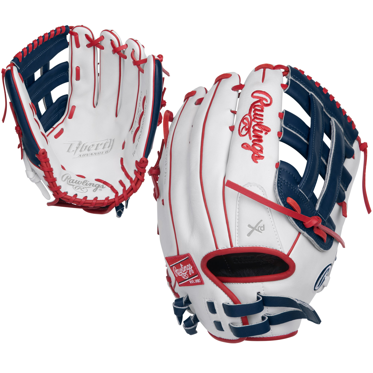 Rawlings Liberty Advanced 13 Inch RLA130-6WNS Slowpitch S...