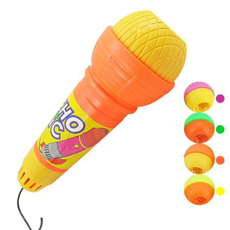 Echo Microphone Mic Voice Changer,Random Color - Kids Echo Microphone
