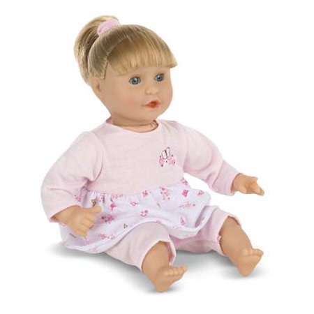 Melissa & Doug Mine to Love Natalie 12-Inch Soft Body Baby Doll With Hair and - School Spirit Outfits