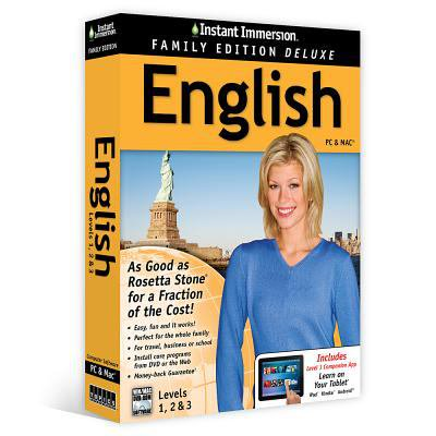 Instant Immersion English  Level 1  2   3  Family Edition