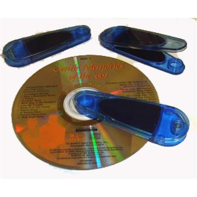 Bulk Buys Plastic Translucent CD Cleaner - Case of 200