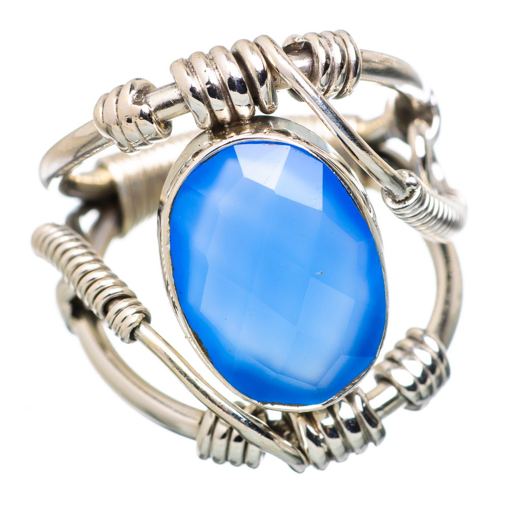 Ana Silver Co Chalcedony 925 Sterling Silver Ring Size 5 Handmade Jewelry RING834168 by Ana Silver Co.