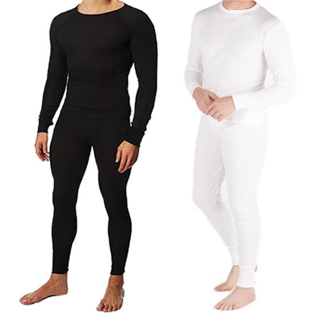Cotton Plus 2134073 Mens Thermal Underwear Set top & Bott...