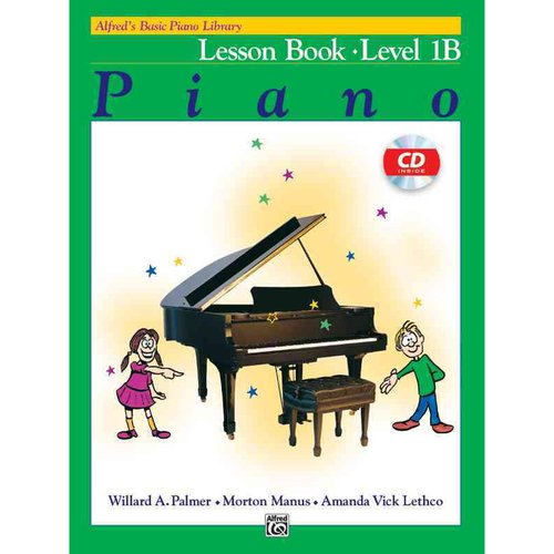 Alfred's Basic Piano Library Piano Lesson Book, Level 1B