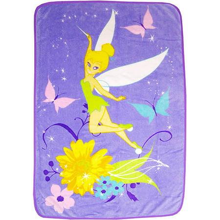 Disney Tinkerbelle Coral Fleece Blanket - Walmart.com